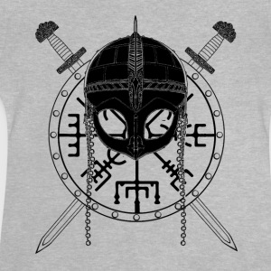 Viking Design (Black) - T-shirt Bébé