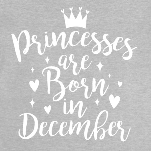 Princesses are born in December - Baby T-Shirt