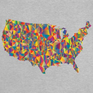 COLORFULL AMERICA - T-shirt Bébé