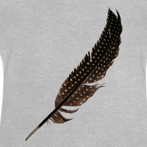 Guinea Fowl Feather - Baby T-Shirt