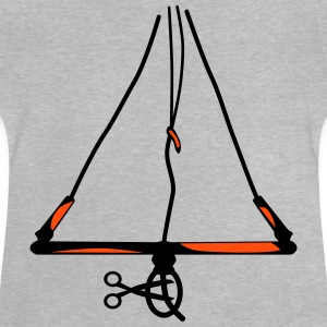 Cut off my chicken .... Kitesurfing Bar - Baby T-Shirt