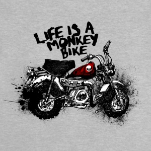 Monkey Bike - Baby T-Shirt