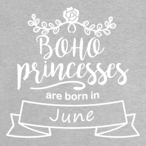 Boho Princesses are born in June - Baby T-Shirt