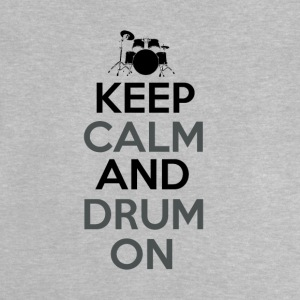 Blijf kalm en Drum On - Drummer Passion - Baby T-shirt
