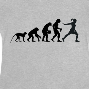 fitness evolutie - Baby T-shirt
