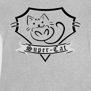 Super Cat T-tröja - Baby-T-shirt