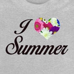 I LOVE SUMMER FLORAL - Baby T-Shirt