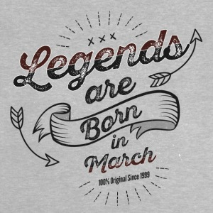 Legends March Born Birthday Gift Young - Baby T-Shirt