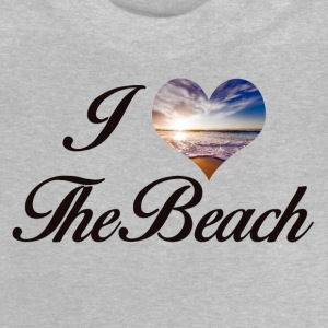 I LOVE THE BEACH - Baby T-Shirt