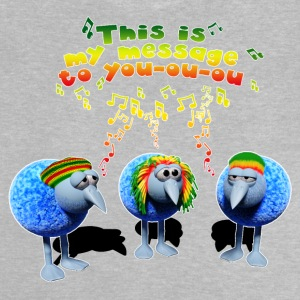 Three little RASTA birds - Baby T-Shirt