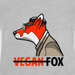 Vegan_Fox_Aubstd - T-shirt Bébé