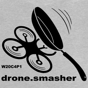 drone-smasher - Baby T-Shirt