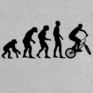 Human Evolution BMX - Baby T-Shirt