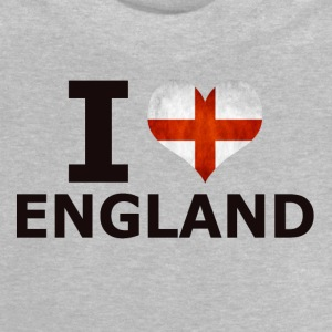 I LOVE ENGLAND FLAG - Baby T-shirt