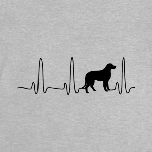 EKG Heart Line Dog - Baby T-Shirt
