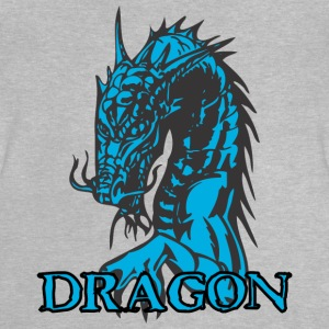 agry looking dragon - Baby T-Shirt