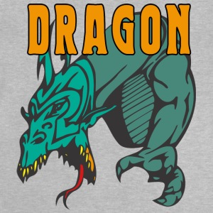 dragon attacking color - Baby T-Shirt