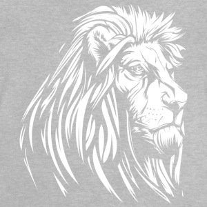 old wise lion white - Baby T-Shirt