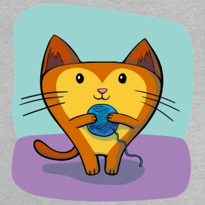 Cat & ball of wool - Baby T-Shirt