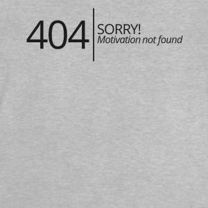 404 - No Motivation - Baby T-Shirt