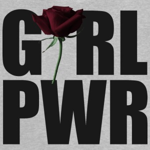 noir Girl Power - T-shirt Bébé