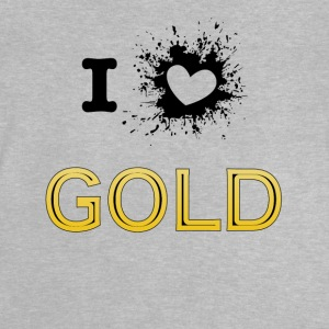ILove gold new - Baby T-Shirt