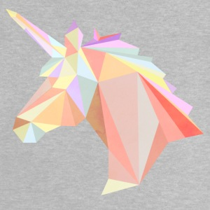 Low Poly Unicorn - Baby-T-shirt