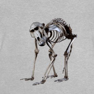 Et Baboon Skeleton af Wild World Designs (WWD) - Baby T-shirt