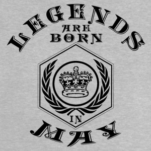 Legends may born birthday gift birth - Baby T-Shirt