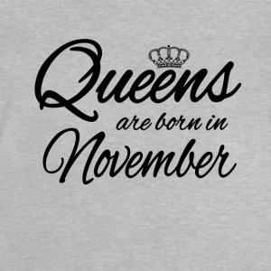 Queens Born November Prinzess Geburtstag Birthday - Baby T-Shirt
