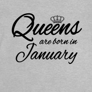 Queensborn January Princess Birthday Birthday - Baby T-Shirt