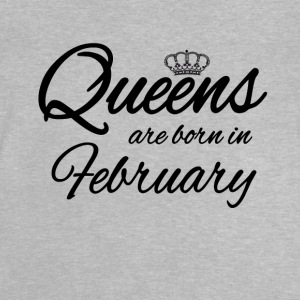 Queensborn February Princess Birthday Birthday - Baby T-Shirt