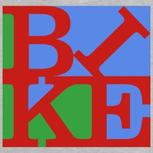 Bike, Homage to Robert Indiana, bunt x - Baby T-Shirt