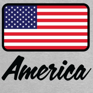 National Flag Of USA - Baby T-shirt