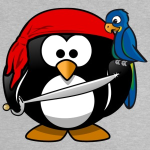 Pirate Penguin pirater - Baby-T-shirt