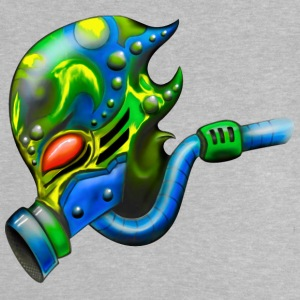 Alien with gas mask - Baby T-Shirt