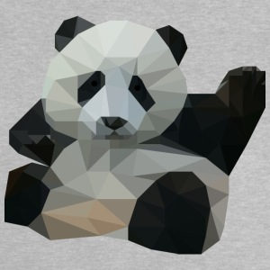 polygon Panda - Baby-T-shirt