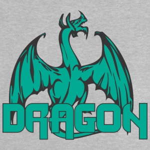 dragon back colored - Baby T-Shirt