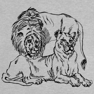 lion family - Baby T-Shirt
