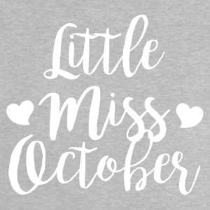 Little miss oktober - Baby-T-shirt