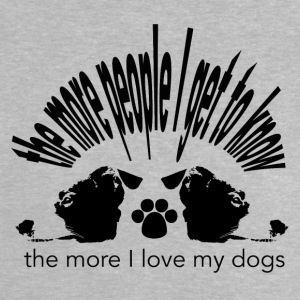 the more people I get to know... - Baby T-Shirt