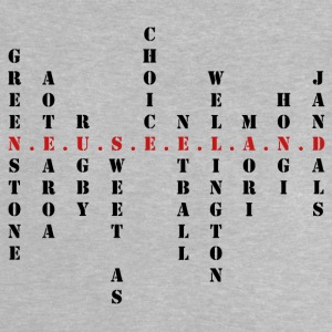 New Zealand Scrabble red - Baby T-Shirt