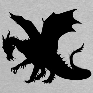 Black dragon - Baby-T-skjorte