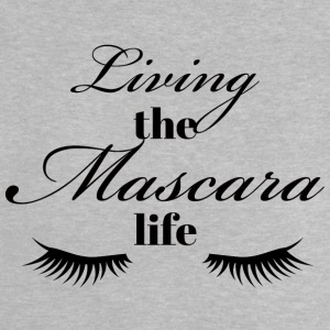 Beauty / Makeup: Living the life Mascara - Baby-T-skjorte