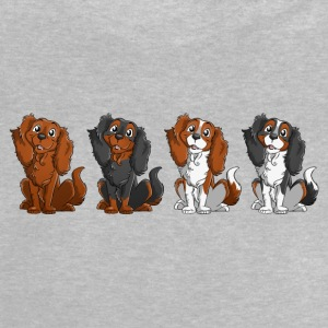 Cavalier King Charles - Line - Baby T-Shirt