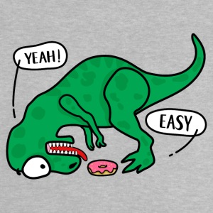 T-REX trying to eat a donuts T-shirt - Baby T-Shirt