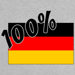 100% German Tyskland Flag - Baby T-shirt