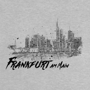 Frankfurt am Main - City sketch skyline - Baby T-Shirt