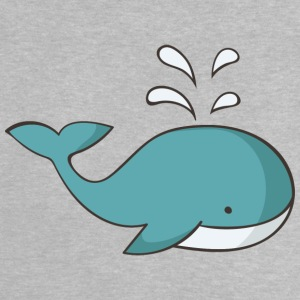 whale - Baby-T-shirt