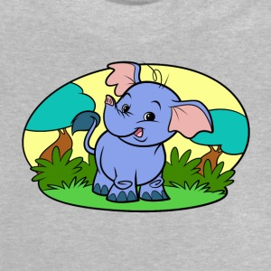 Tiny Elephant Art Collection - Baby T-Shirt